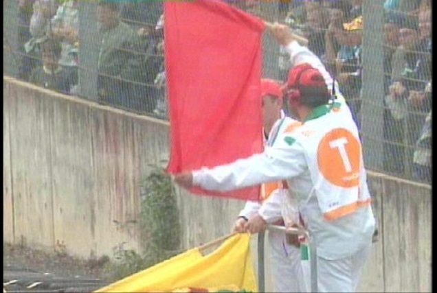 Red Flag Sepang 2012