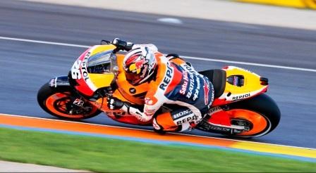 Dani Pedrosa MotoGP race Valencia 2012
