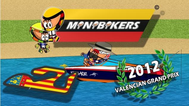Kartun MotoGP Valencia 2012