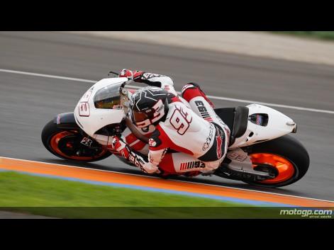 Marc Marquez MotoGP Test Valencia