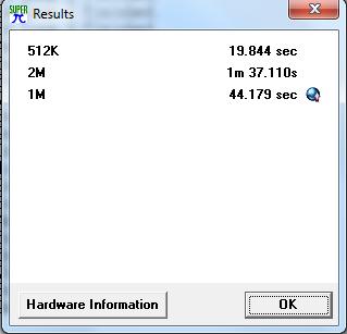 Super Pi Pentium4 3,0