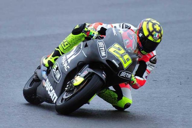 Andrea Iannone-Pramac Ducati 2013