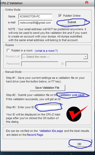 Cara Validasi CPU-Z