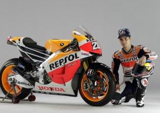 Dani Pedrosa-Launching Honda Repsol