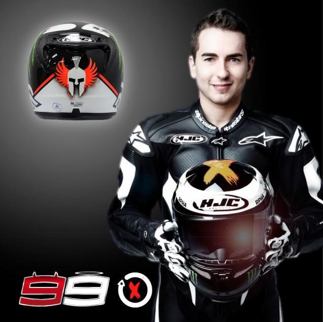 Design Helm Baru Jorge Lorenzo 2013