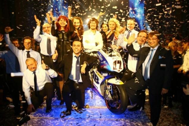 Launching Cardion AB-MotoGP 2013
