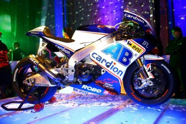Launching Cardion AB(3)-MotoGP 2013