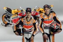 Pedrosa-Marquez-Launching Honda Repsol MotoGP 2013