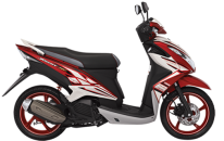 Yamaha Xeon RC-Victorious Red