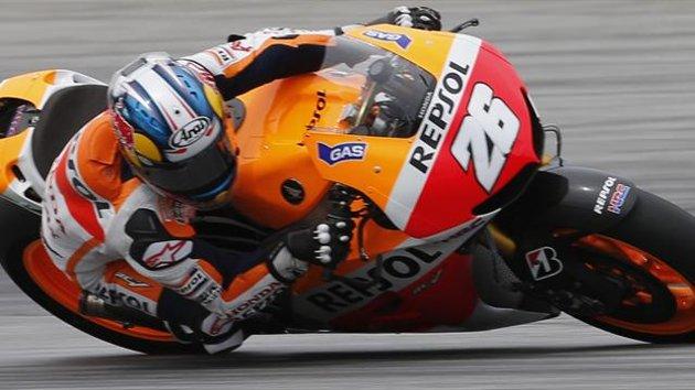 Dani Pedrosa-Tercepat di Tes MotoGP Sepang 2013