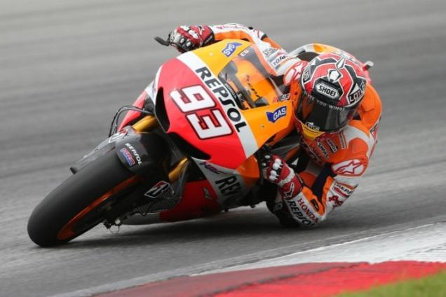 Marc Marquez-Tes MotoGP Sepang 2013