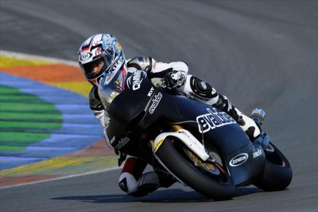 Rafid Topan-Tes Moto2 Valencia 2013