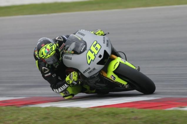 Valentino Rossi-Tes MotoGP Sepang 2013