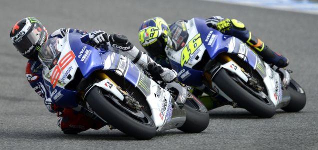 Lorenzo dan Rossi Tes Jerez 2013