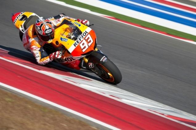 Marc Marquez-Tercepat di Tes Privat MotoGP Austin 2013