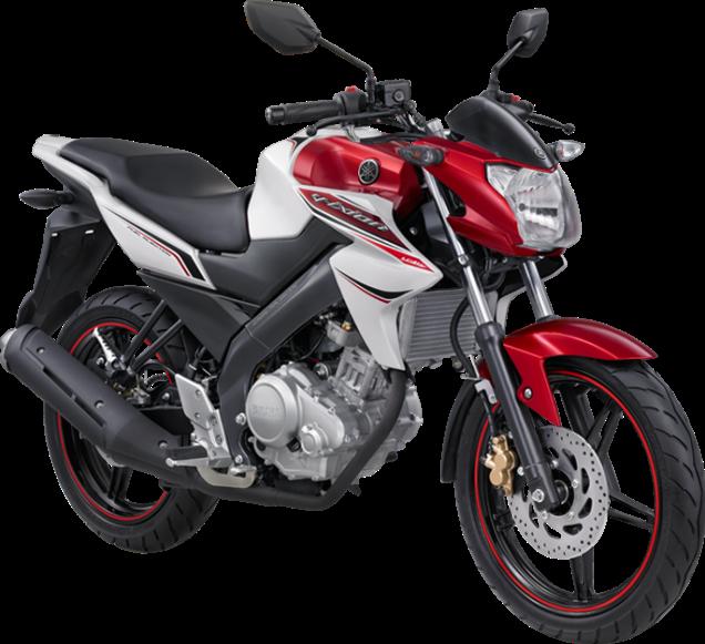 Yamaha New Vixion Merah Putih Sebelum Dimodif