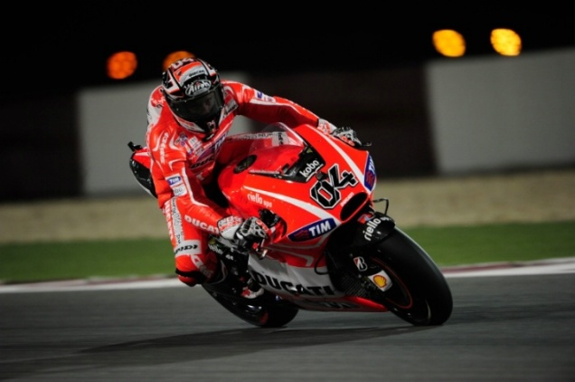 Andrea Dovizioso-Bikin Ducati Start Di Depan