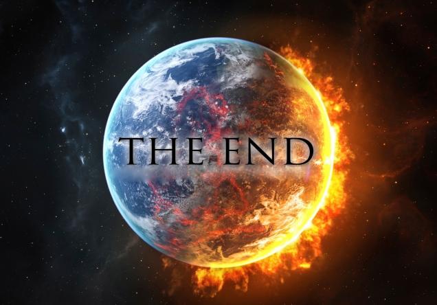 Bumi Terbakar-Kehidupan Berakhir