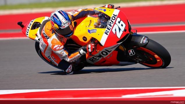 Dani Pedrosa-Tercepat Free Practice 3 Austin