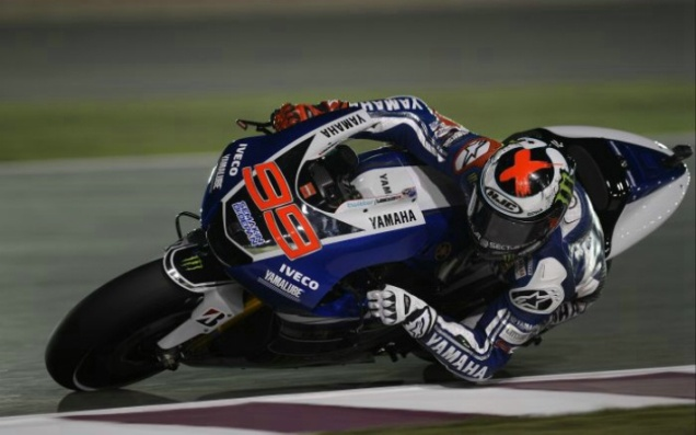 Jorge Lorenzo-Tercepat Di FP1 Qatar
