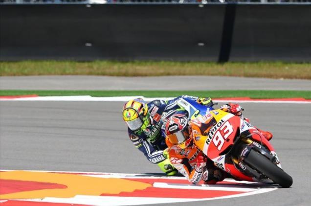 Marquez dan Rossi-Qatar 2013