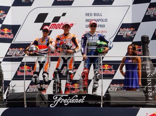 Podium MotoGP Austin 2013