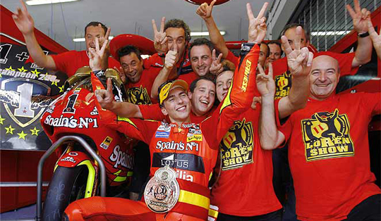 Jorge Lorenzo-Juara dunia ke-2 250cc