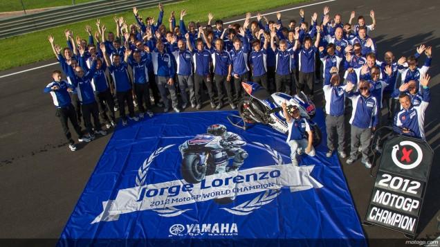 Jorge Lorenzo-Juara Dunia MotoGP 2012