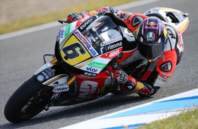 Stefan Bradl-Tercepat Q1 Jerez 2013