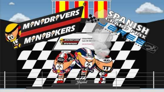 Kartun MotoGP Jerez 2013