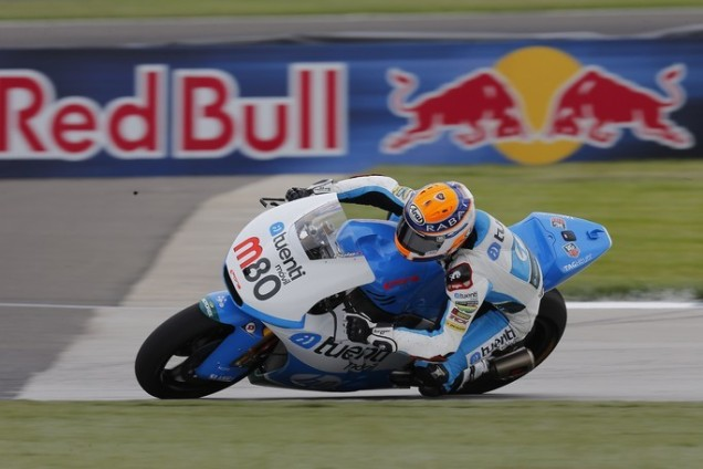 Esteve Rabat-Juara Moto2 Indianapolis 2013