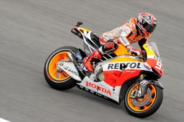 Marquez-tercepat di FP1 Indianapolis 2013