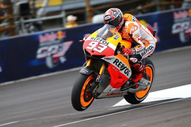 Marquez-Tercepat Di FP2 Indianapolis 2013
