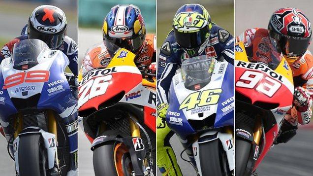Fantastic 4 MotoGP 2014