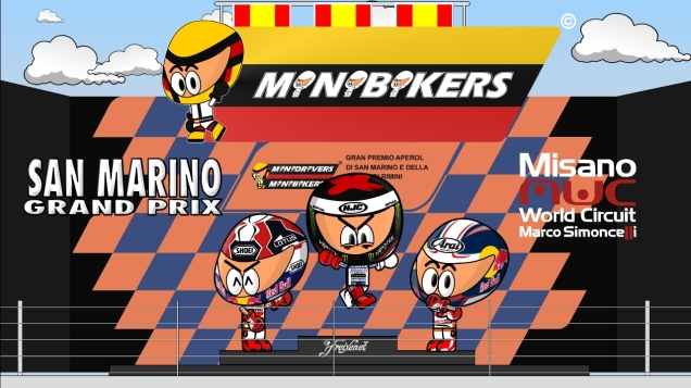 Kartun MotoGP Misano