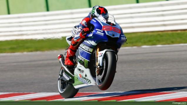 Lorenzo juga-Masih Sering gejala Wheelie