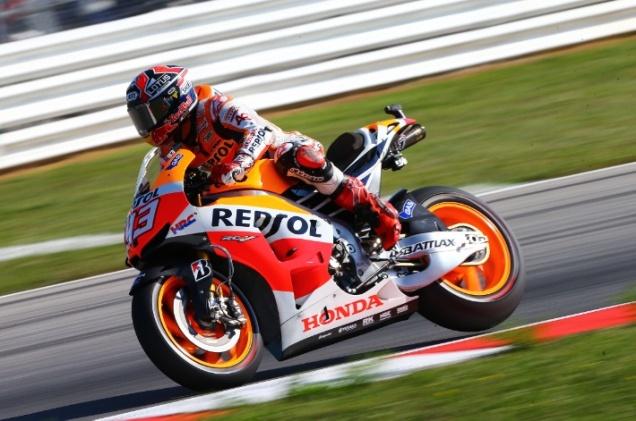 Marquez-tercepat FP2 Misano 2013