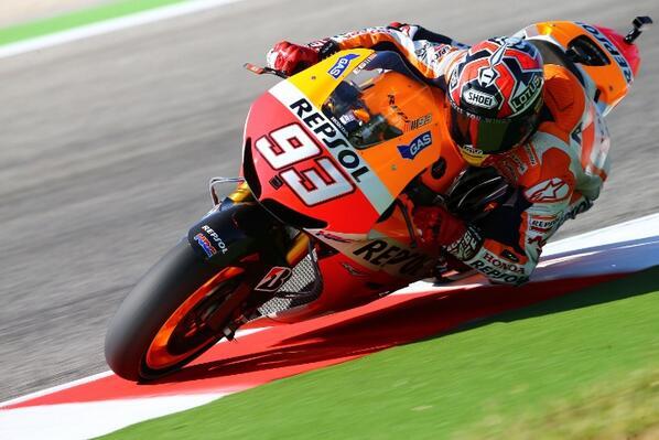 Marquez-Tercepat FP3 Misano 2013