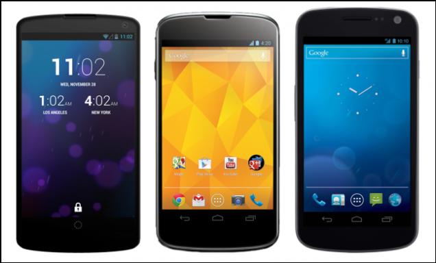 Nexus 5 (Hasil Rendering)