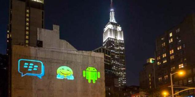 BBM di Android dan iPhone