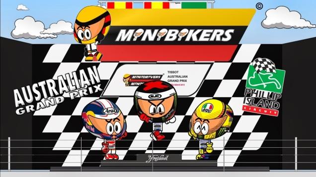 Kartun MotoGP Australia 2013