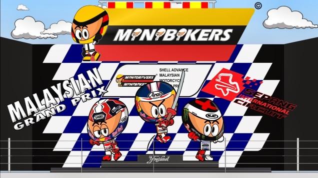 Kartun MotoGP Sepang 2013