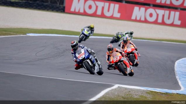 Pertarungan Fantastic 4 MotoGP 2013