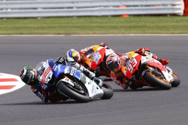 Sudut Kemiringan Pembalap MotoGP