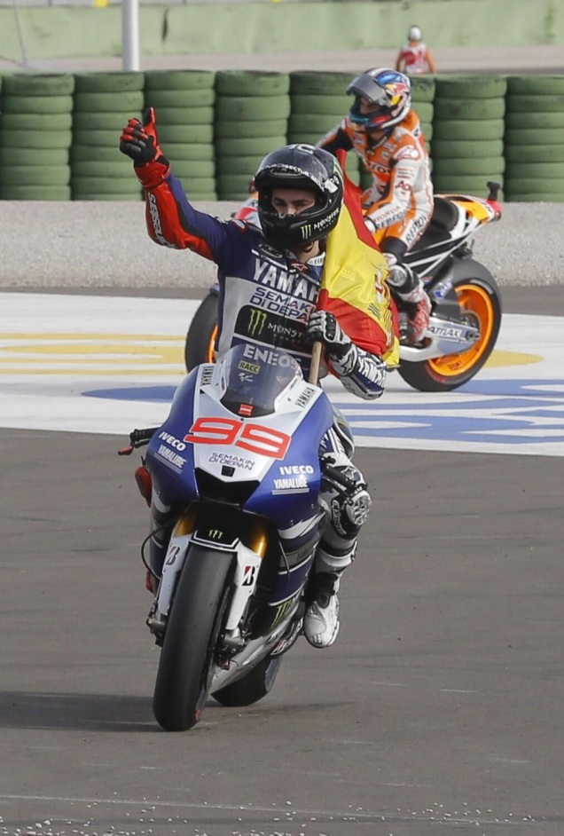 Jorge Lorenzo-Juara Valencia 2013