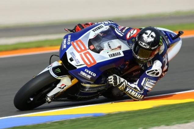 Jorge Lorenzo-Tercepat FP4 Valencia 2013