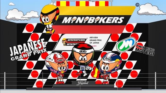 Kartun MotoGP Motegi 2013