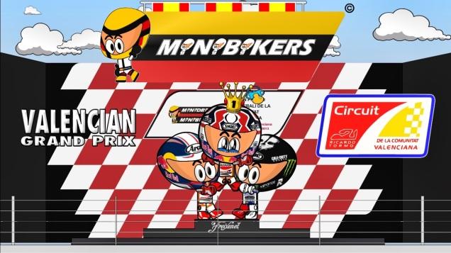 Kartun MotoGP VAlencia 2013