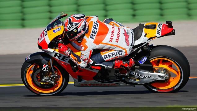 Marc Marquez-Tercepat FP2 Valencia 2013