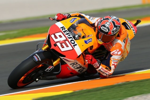 Marc Marquez-Tercepat FP3 Valencia 2013